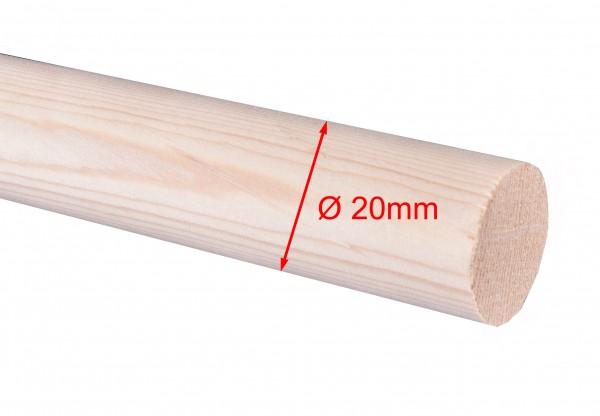 Rundstäbe Fichte, Ø 20mm, Längen bis 4000mm