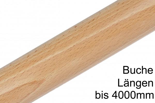 Buchen Rundstab bis 4,0m lang Oberfläche roh,  lackiert oder geölt