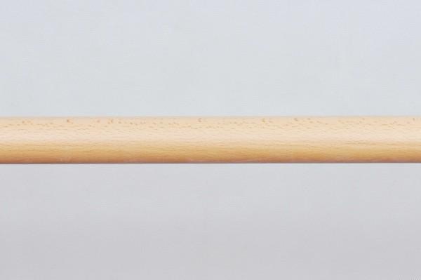Buchen-Handlauf, Ø 40mm, B-Ware, lackiert 1,40m lang