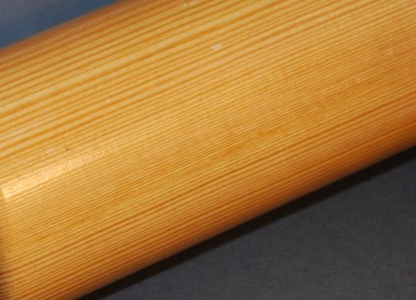 Runder Handlauf aus Lärchenholz