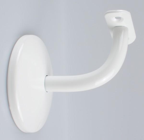 Handlaufhalter Handlaufträger Stahl, weiß pulverbeschichtet
