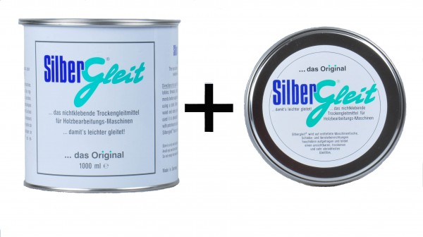 Silbergleit, 1250ml praxisgerecht in zwei Gebinden, für Werkstatt und Montage